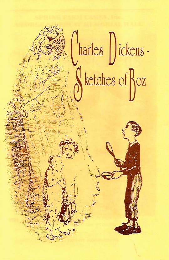 The original program for Sketches of Boz