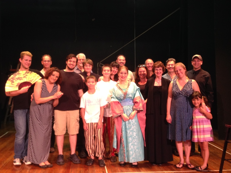 The Mikado - EOH Summer 2014 Cast and Crew