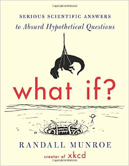 What If?  book jacket illustration