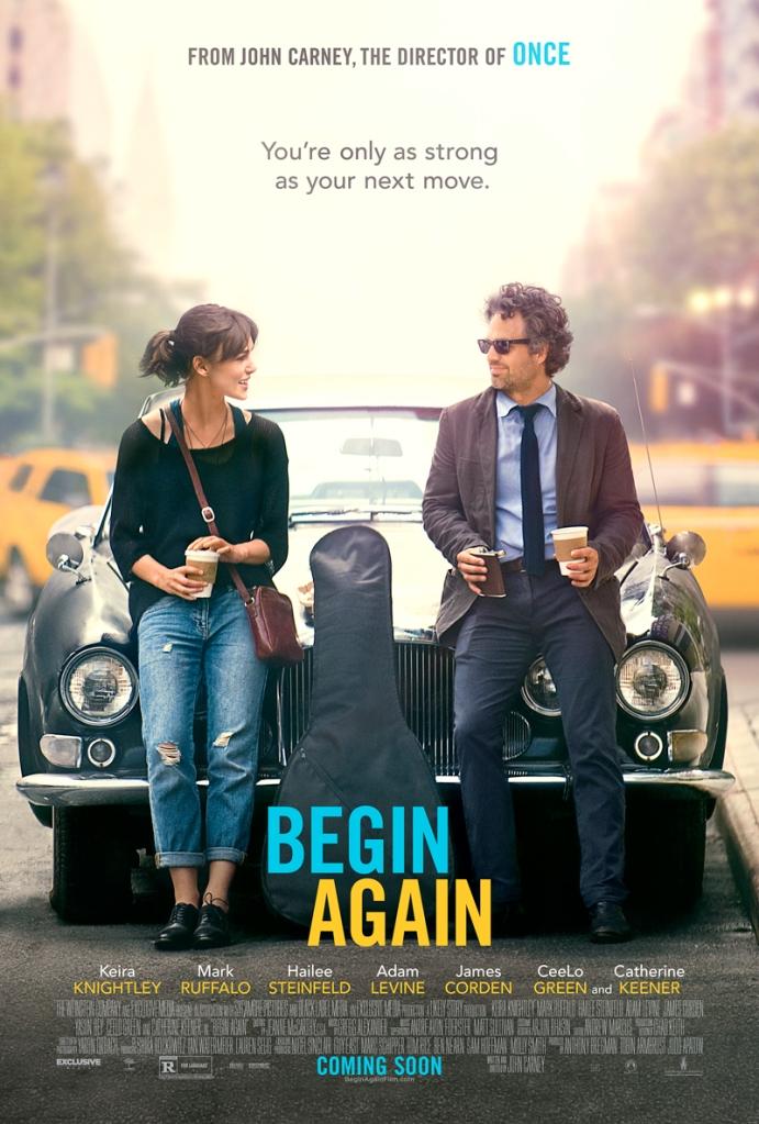 Begin Again - movie poster