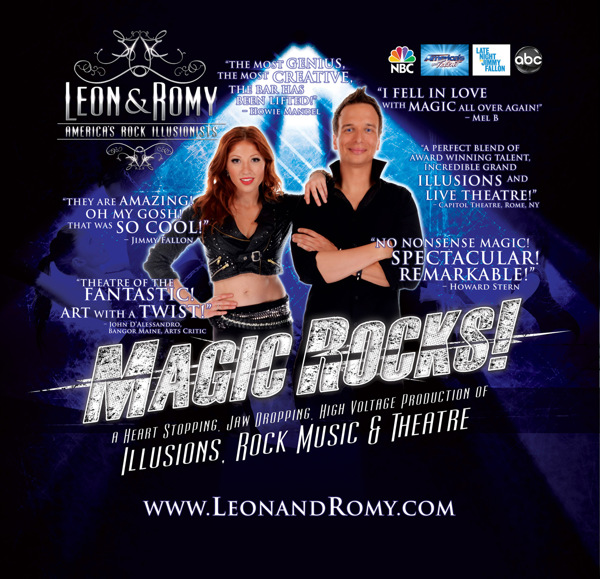 Leon Etienne and Romy Low
