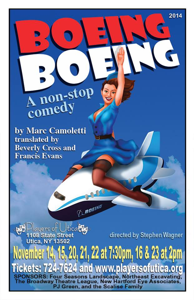 Poster for Boeing Boeing