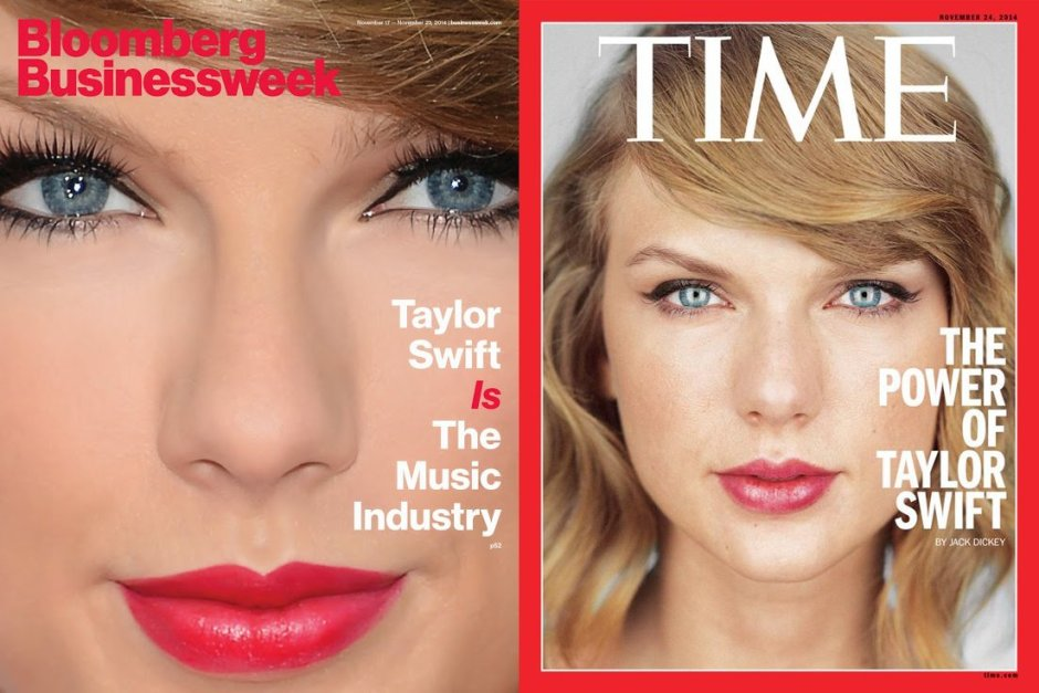 Taylor Swift Magazine Covers - Businessweek and Time