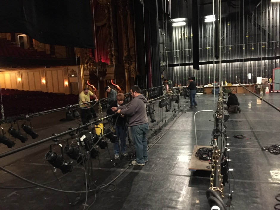 Mohawk Valley Ballet - Nutcracker setup