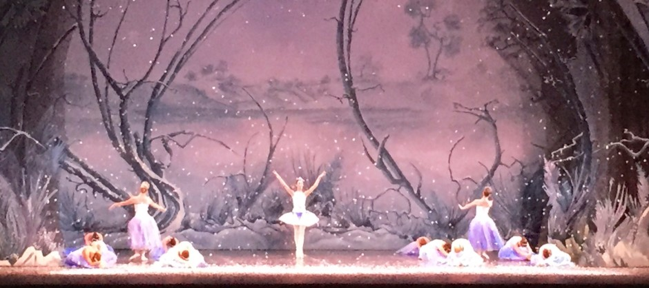Mohawk Valley Ballet - Nutcracker snow scene