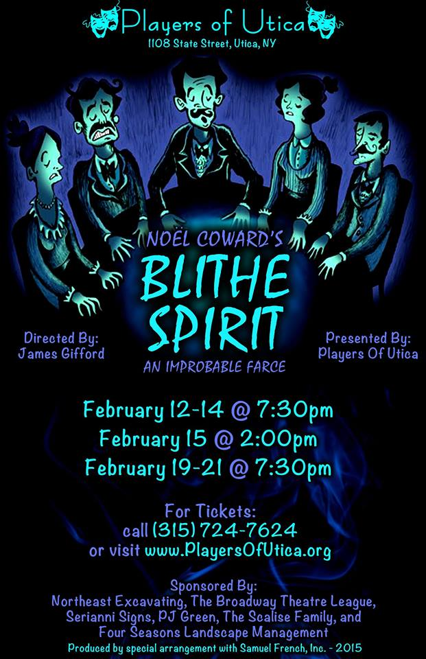 Blithe Spirit - Players of Utica