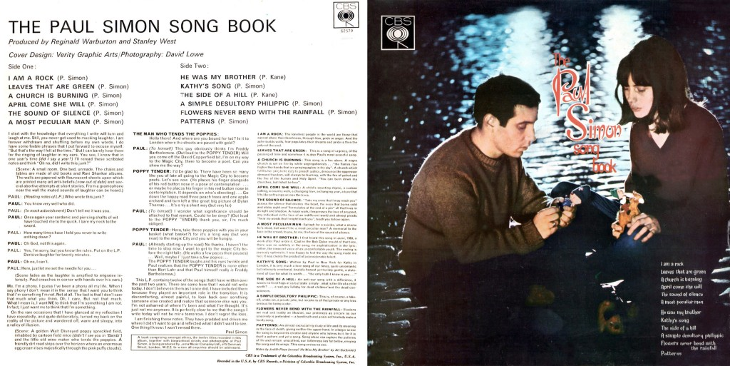 Paul Simon Songbook - Album Cover