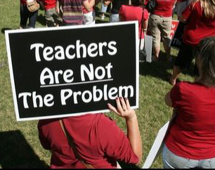 Teachers Are Not the Problem