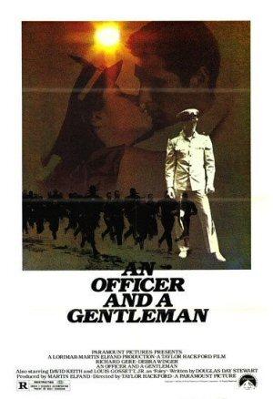 An Officer and a Gentleman poster