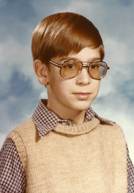 Chris Bord, 1980 school picture
