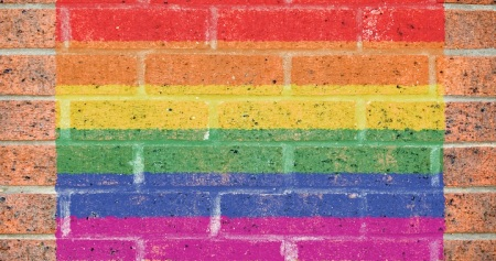 LGBTQ Brick Wall