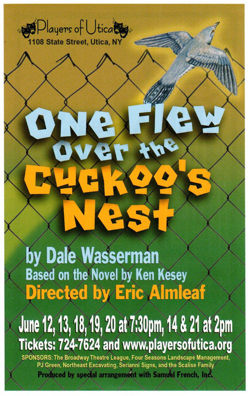 Players of Utica One Flew Over the Cuckoo's Nest