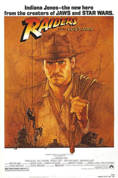Raiders of the Loast Ark - poster