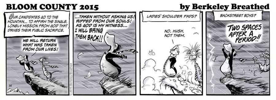 Bloom County, by Berkeley Breathed