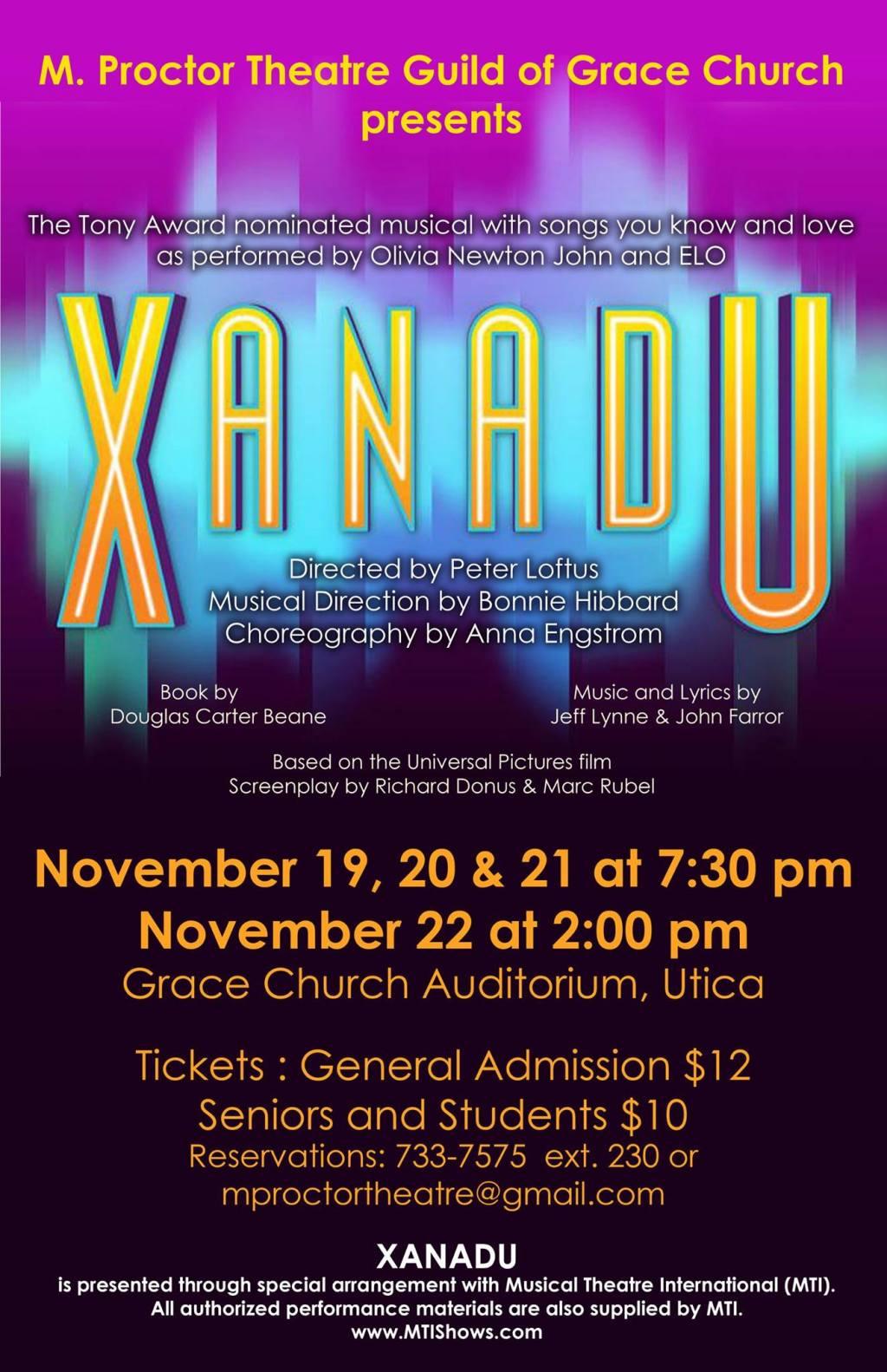 Xanadu poster