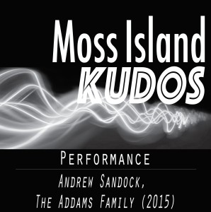 Kudos - Andrew Sandock - The Addams Family 2015