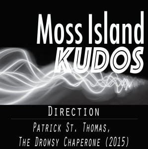 Kudos - Patrick St. Thomas - The Drowsy Chaperone 2015