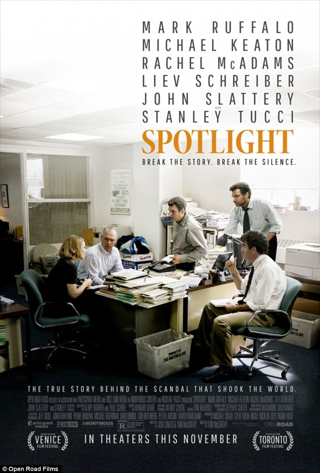 Spotlight - movie poster