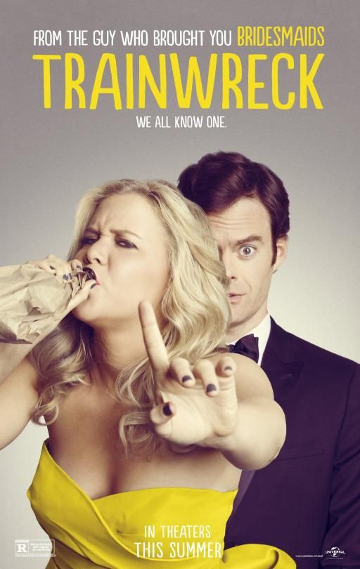 Trainwreck - movie poster