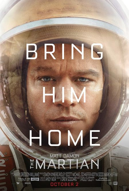 The Martian - movie poster